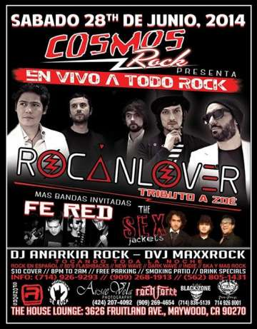 N Vivo A Todo Rock Con Rocanlover-fe Red - rock en espa�ol - rockeros.net