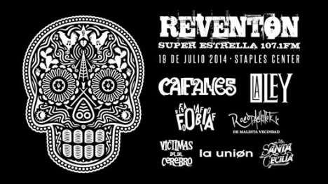 Reventon Super Estrella 2014 Caifanes La Ley Fobia Staples Center Los Angeles Ca - rock en espa�ol - rockeros.net