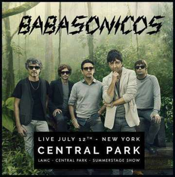 Babasonicos En Central Park Lamc Showcase - rock en español - rockeros.net