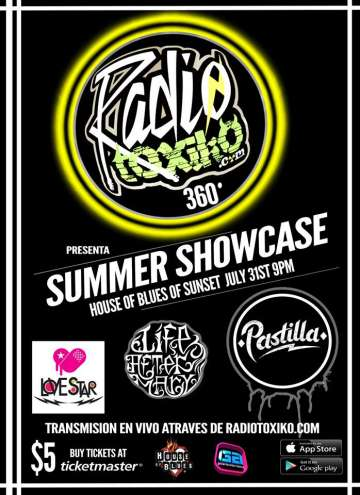 Summer Showcase Con Pastilla-love Star-los Marcapasos - rock en español - rockeros.net