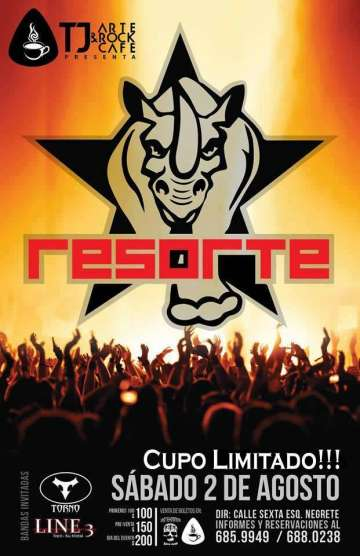 Resorte - rock en espa�ol - rockeros.net