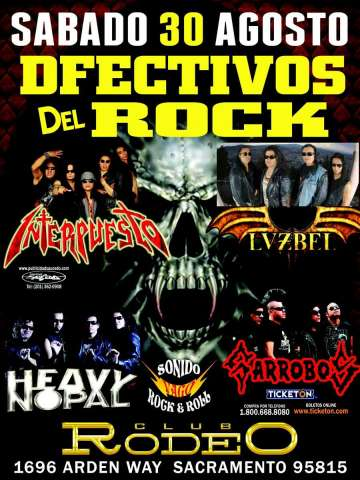 Club Rodeo Heavy Heavy Nopal Sonido Rock And Roll Garrobos Lvzbel Sacramento - rock en espa�ol - rockeros.net