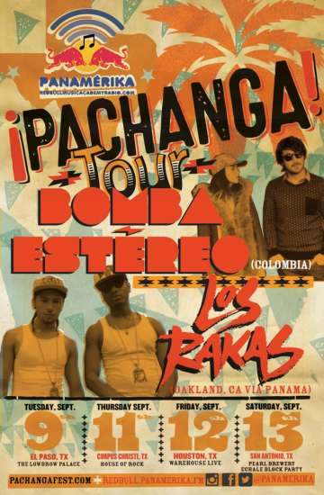 Bomba Estereo En The Lowbrow Place El Paso - rock en espa�ol - rockeros.net