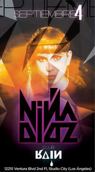 Nina Dios En Rain Nightclub De Studio City - rock en espa�ol - rockeros.net