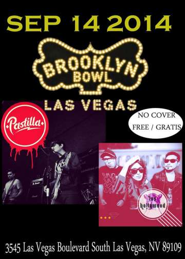 Pastilla Y Los Hollywoods En El Brooklyn Bowl - rock en espa�ol - rockeros.net