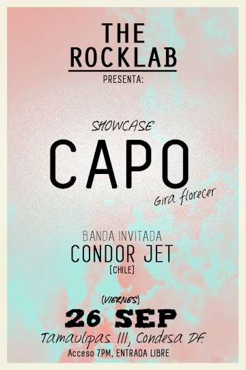Capo Y Condor Jet En The Rock Lab - rock en espa�ol - rockeros.net