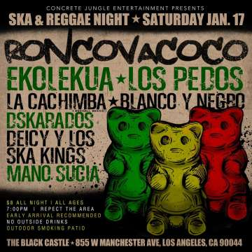 Ska And Regae Nigth - rock en espa�ol - rockeros.net