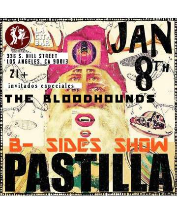 Pastilla B-sides Show With The Bloodhounds At La Cita Bar - rock en espa�ol - rockeros.net