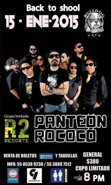 Back To School Con Panteon Rococo Y Resorte - rock en espa�ol - rockeros.net