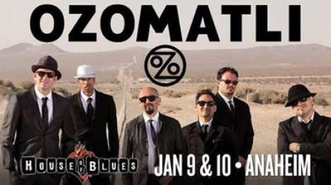 Ozomatly Y Making Moves En El House Of Blues De Anaheim California - rock en español - rockeros.net