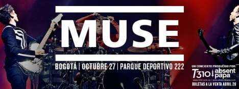 Muse En Colombia - rock en espa�ol - rockeros.net