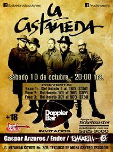 La Casta�eda En Doppler Bar - rock en espa�ol - rockeros.net