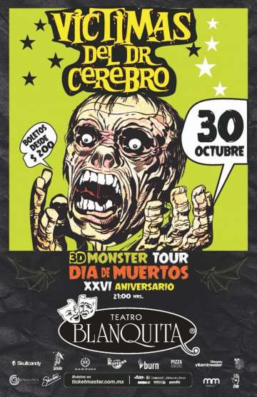 3d Monster Tour Hallowen - rock en espa�ol - rockeros.net