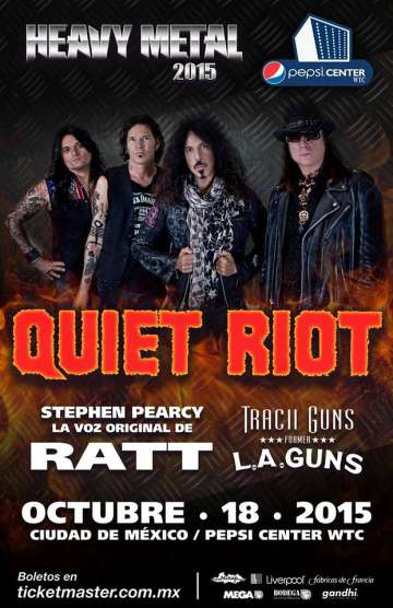 Heavy Metal 2015 Quiet Riot - rock en espa�ol - rockeros.net