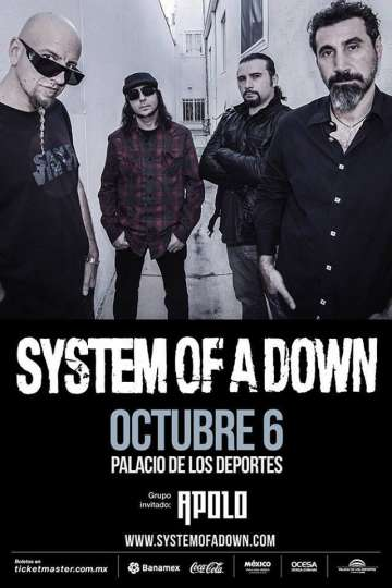 System Of A Down En Mexico - rock en espa�ol - rockeros.net