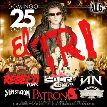 El Tri  Rebeld Punk En Patron  De New York - rock en espa�ol - rockeros.net