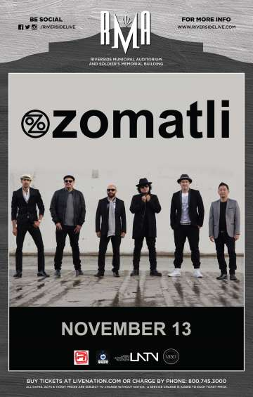 Ozomatli In Riverside - rock en espa�ol - rockeros.net
