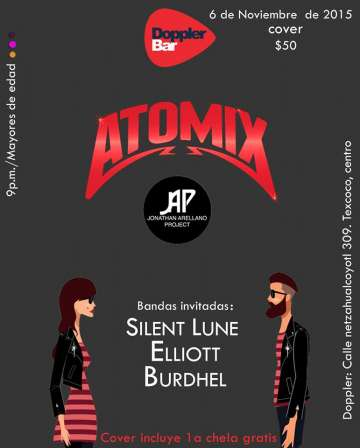 Atomix En Doppler Bar - rock en espa�ol - rockeros.net