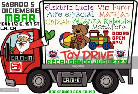 Frecuencias Alteradas Toy Drive Elektric Lucie Vim Furor M Bar De Los Angeles - rock en espa�ol - rockeros.net