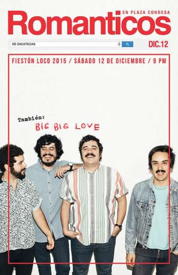 Fieston Loco 2015 Los Romanticos De Zacatecas - rock en espa�ol - rockeros.net