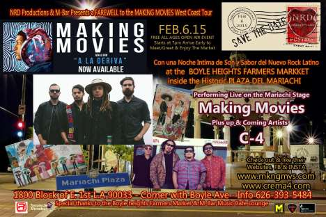 Making Movies In Boyle Heights Free - rock en espa�ol - rockeros.net