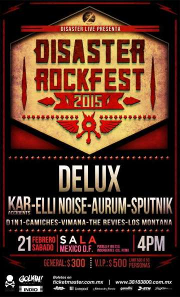 Disaster Rockfest - rock en espa�ol - rockeros.net