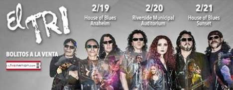 El Tri En El House Of Blues Del Sunset Strip - rock en espa�ol - rockeros.net