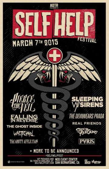 Self Help Festival 2015 - rock en espa�ol - rockeros.net