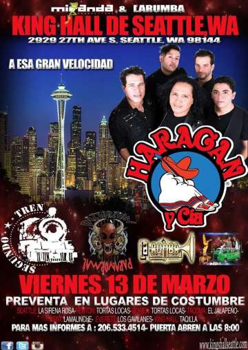 El Haragan Y Cia Segundo Tren Distorzion Paranormal En Seatle Washington - rock en espa�ol - rockeros.net
