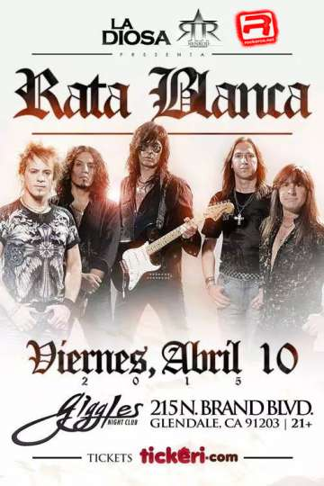 Rata Blanca En La Diosa Night Club - rock en espa�ol - rockeros.net