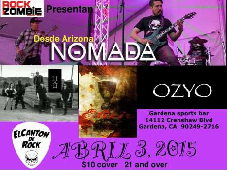 Rock Night Con Nomada-ozyo-elixir-madam - rock en espa�ol - rockeros.net