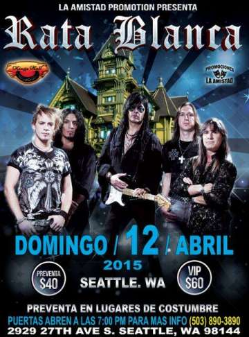 Rata Blanca En Seattle - rock en espa�ol - rockeros.net
