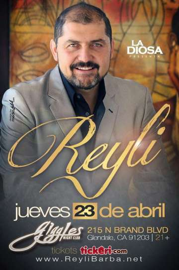 Reyli En El Giggles Night Club - rock en espa�ol - rockeros.net