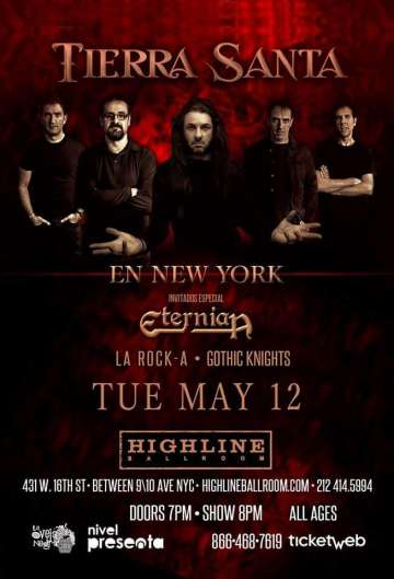 Tierra Santa En New York - rock en espa�ol - rockeros.net