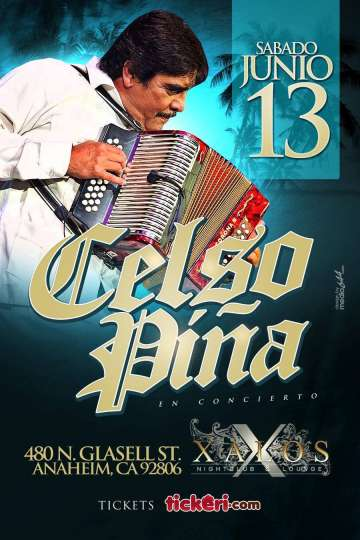 Celso Pi�a En El Xalos Bar De Anaheim California - rock en espa�ol - rockeros.net