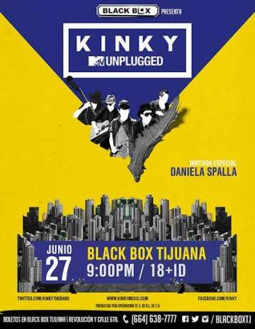 Kinky Mtv Unplugged En Tijuana - rock en espa�ol - rockeros.net