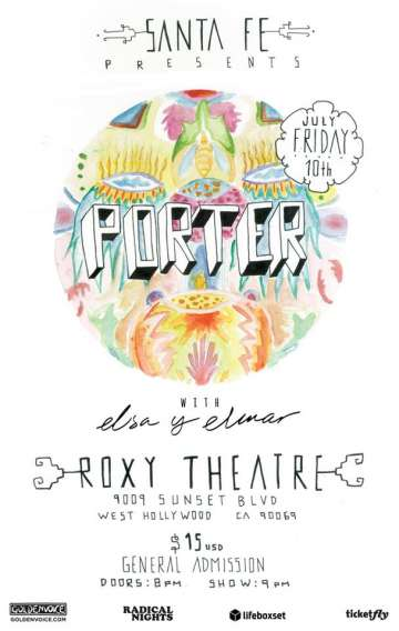 Porter Y Elsa Y El Mar En The Roxy De Hollywood - rock en espa�ol - rockeros.net