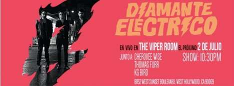 Diamantre Electrico En Vivo En The Viper Room - rock en espa�ol - rockeros.net
