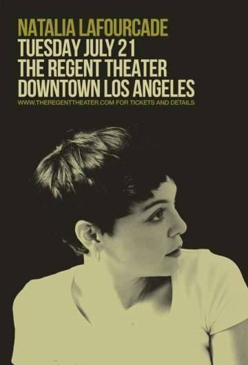 Natalia Lafourcade En The Regent Theater De Los Angeles - rock en espa�ol - rockeros.net