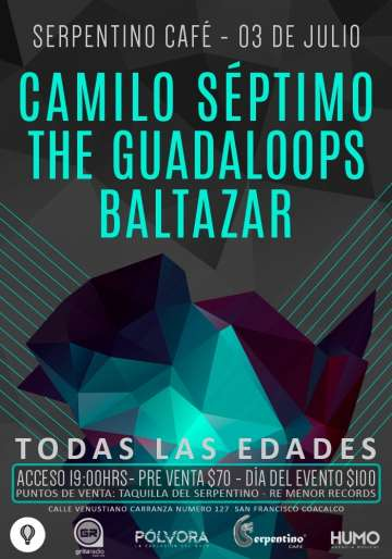 Camilo Septimo-the Guadaloops Y Baltazar En Serpertino Cafe - rock en espa�ol - rockeros.net