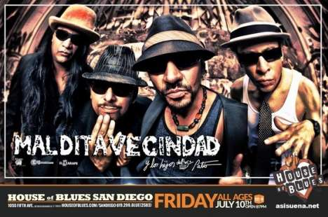 Maldita Vecindad En House Of Blues San Diego - rock en espa�ol - rockeros.net