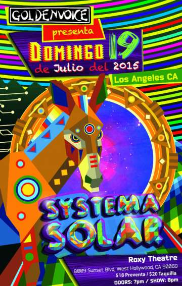 Sistema Solar En The Roxy - rock en espa�ol - rockeros.net