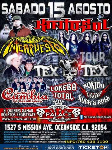 Tex Tex-interpuesto-sonido Vago Rock And Roll En Oceanside - rock en espa�ol - rockeros.net
