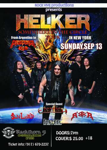Helker Somewhere In The Circle Tour - rock en espa�ol - rockeros.net