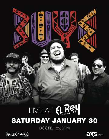Goldenvoice Presenta Buyepongo En El Rey Theatre De Los Angeles - rock en espa�ol - rockeros.net