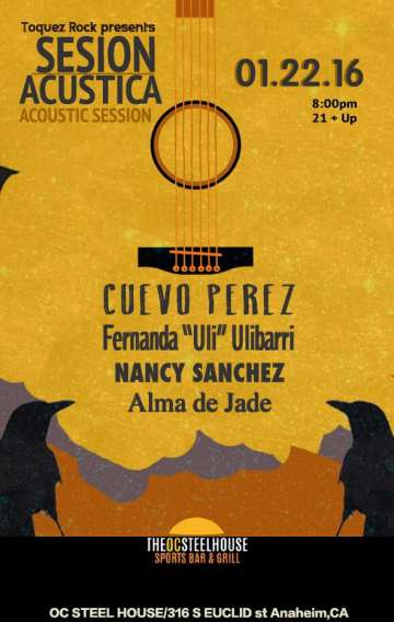 Cuevo Perez Fernanda Ulibarri Alma De Jade Nancy Sanchez En The Oc Steel House - rock en espa�ol - rockeros.net