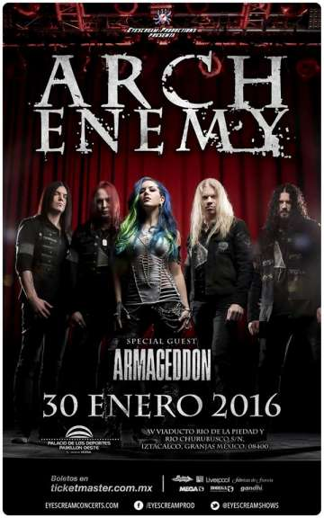Arch Enemy En Mexico - rock en español - rockeros.net