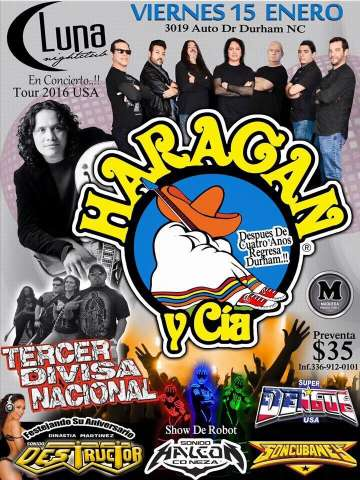 El Haragan Y Cia En Durham North Carolina - rock en espa�ol - rockeros.net