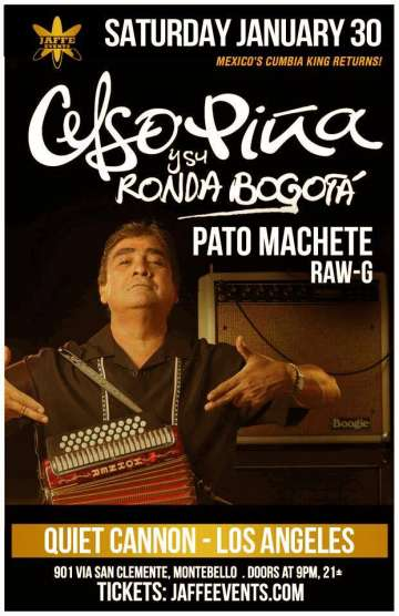 Celso Pi�a Pato Machete Y Raw G En El Quiet Cannon De Los Angeles Ca - rock en espa�ol - rockeros.net