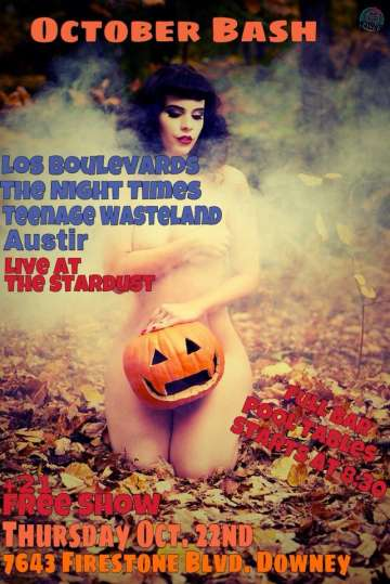 Los Boulevards The Night Times Teenage Wasteland Austir En The Star Dust - rock en espa�ol - rockeros.net